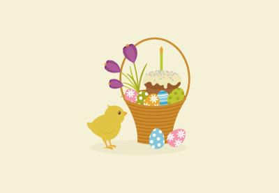 Draw an Easter Basket Illustration in Adobe Illustrator
