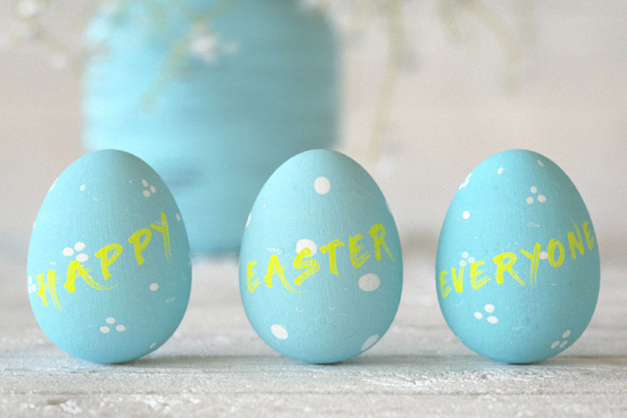Create Painted Easter Eggs in Cinema 4D and Octane