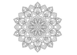 Draw Simple Mandala with Rotate Tool in Illustrator