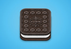 Draw an Oreo-Inspired Icon in Adobe Illustrator