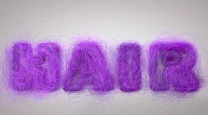 Create Hair Object on Text in maxon Cinema 4D
