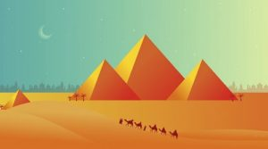 Draw a Desert Pyramid Scene in Adobe Illustrator
