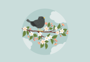 Draw a Starling on a Branch in Adobe Illustrator