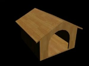 Modeling a Dog House in Autodesk 3ds Max