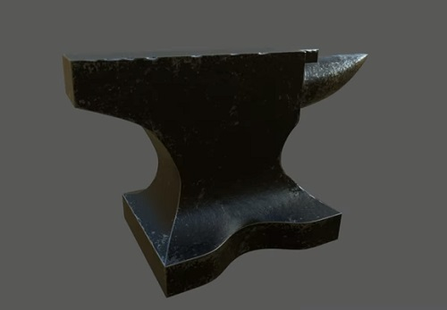 Modeling a Realistic Anvil in Maya and ZBrush