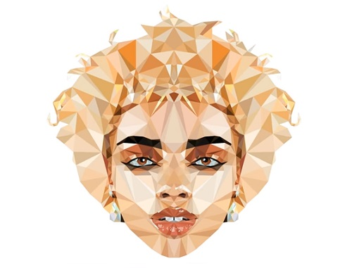 Draw a Vector Low Poly Portrait in Illustrator