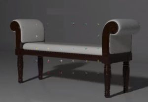 Modeling a Classic Bench Furniture in 3ds Max
