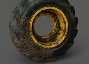 Modeling a Tractor Tire in Autodesk Maya