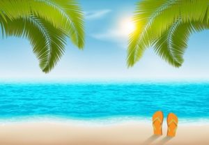 Draw a Vacation Beach Background in Illustrator
