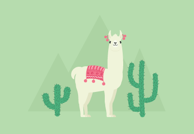Draw a Llama Illustration in Adobe Illustrator