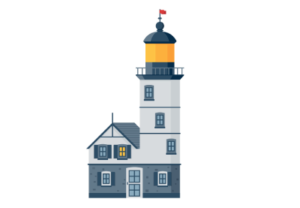 Draw a Vector Lighthouse in Adobe Illustrator