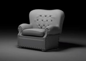 Modeling a Luxury New Leather Chair in 3ds Max