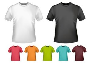 Draw a Vector T-Shirt Mockup Template in Adobe Illustrator