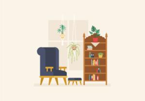 Draw a Retro Interior Forniture in Adobe Illustrator