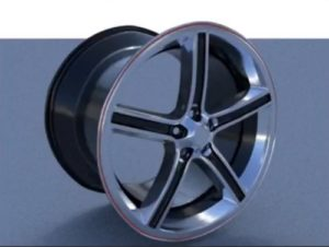 Modeling a Realistic Car Rim in Autodesk 3ds Max