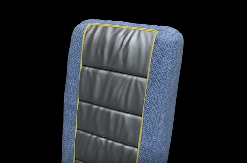 Modeling a Airplane Seat in 3ds Max and ZBrush
