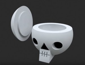 Modeling a Simple Skull Jar in 3ds Max
