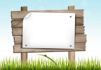 Draw Mesh Leaves and a Wooden Sign in Illustrator