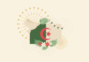 Draw an Algerian Independence Day Illustration in Illustrator