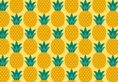 Draw a Pineapple Seamless Pattern in Adobe Illustrator