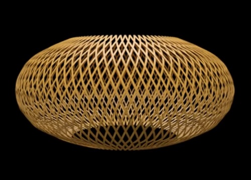 Modeling a Bamboo Lamp in Autodesk 3ds Max
