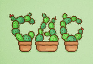 Draw a Cactus Text Effect in Adobe Illustrator