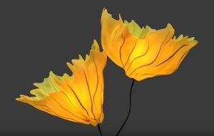 Modeling a Gingko Floor Lamp in Autodesk 3ds Max