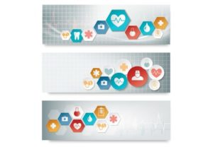 Draw a Vector Medical Banner with Icons in Illustrator