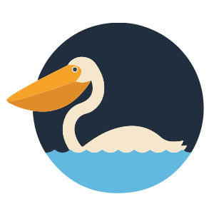Quick Pelican Free vector download