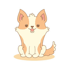 Welsh Corgi Dog Vector Free download