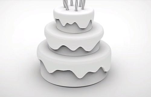Modeling a Birthday Cake in Autodesk Maya 2018