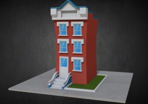 Modeling a Cartoon House in Autodesk 3ds Max
