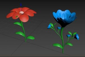 Modeling a 3D Flower in Autodesk 3ds Max