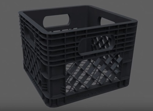 Modeling a Realistic Plastic Crate in 3ds Max