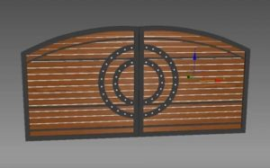 Modeling a Realistic Gate in 3ds Max
