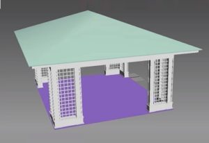 Modeling Architectural Gazebo in Autodesk 3ds Max