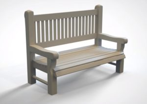 Modeling a Realistic Park Bench in Autodesk Maya 2018