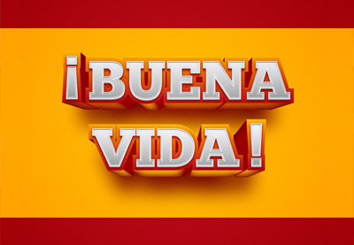Draw a Spain-Inspired Text Effect in Adobe Illustrator