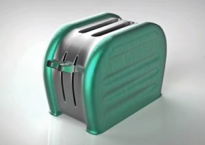 Modeling a 50's Style Toaster in Autodesk Maya