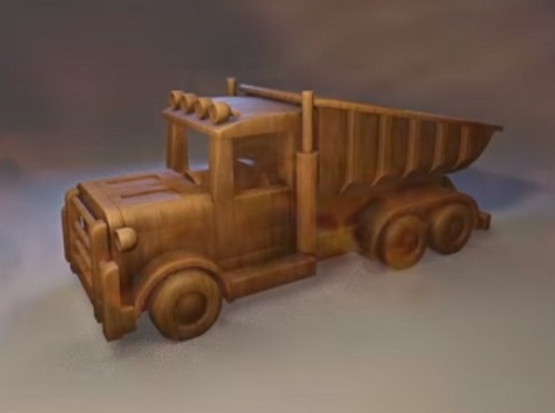 Modeling a Toy Truck 3D in Blender