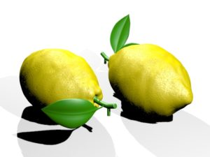 Lemon Fruit 3D Object Free download