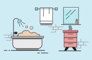 Draw a Simple Vector Bathroom using Adobe Illustrator