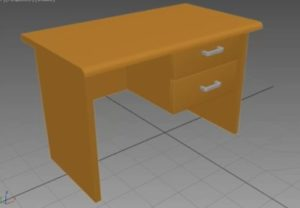 Modelling a Computer Table in Autodesk 3ds Max