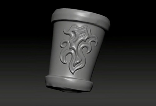 Sculpting Ornamental Designs in Pxicologic ZBrush