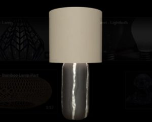 Model a Metal Leather Lamp in 3ds Max