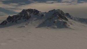Realistic Snowy Mountain Modeling in 3ds Max