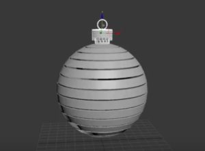Modeling a Realistic Christmas Ball in Autodesk 3ds Max
