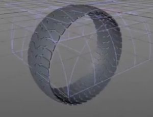 Make a Realistic and Fast 3D Tire in Maxon Cinema 4D