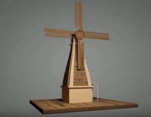 Modeling a Fast Wind Mill in Maxon Cinema 4D