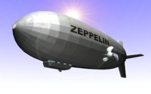 Modeling Airship Zeppelin using Autodesk 3ds Max
